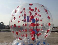 New1.2m PVC Inflatable Bumper Bubble Balls Body Zorb Ball Soccer Bumper Football