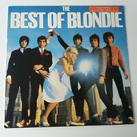Blondie - Best of - Vinyl LP UK Press + Rare Poster EX/EX Greatest Hits