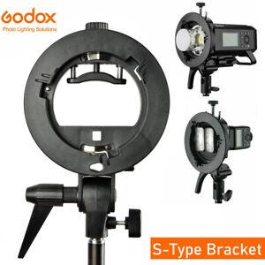 Godox S-Type Adattatore Bowens Supporto Speedlite, Softbox, Riflettore,Ecc. Q0Q3