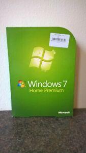 Windows 7 Home Premium Upgrade DVD 32- & 64-Bit Product License Key. Boxed #613