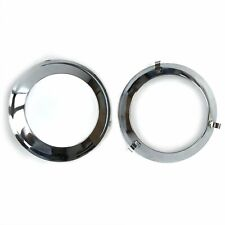 Paintable Plated Trim Ring For Frenched Headlight Kit (Pair) AutoLoc FRHEADTRIMZ