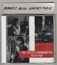 The Velvet Underground - The First Night - Rare OOP MINT Deluxe Import 2CD Set