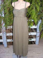 NEW Crossroads Knot Bodice MAXI DRESS Size Medium -14/16. $39.95 Woodland Green