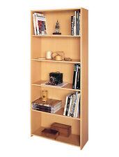 Bücherregal Lupo mit 4 Böden Spanplatte 171x24x61cm