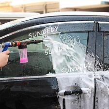 New 2in1 Adjustable Snow Foam Car Wash Spray Gun Lance Pressure Washer Quick Jet