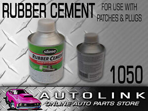 RUBBER CEMENT TYRE TUBE PATCH REPAIR GLUE COLD SOLUTION 236ml WITH BRUSH 1050