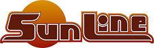 "NEW SunLine 81 - 85 camper / travel trailer 26"" vinyl decal"