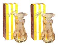 Mini Miniature Giorgio Beverly Hills Yellow 2x 3.5ml EDT Woman Perfume