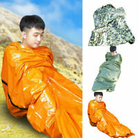 Emergency Sleeping Bag Waterproof Thermal For Outdoor Survival  Hiking Camping
