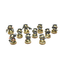 SPACE MARINES 10 sternguard Veteran squad converted #1 PRO PAINTED Red Scorpions