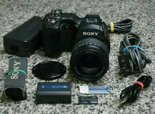 VTG Sony Cyber-Shot DSC-F828 8.0MP Bridge Camera 7x W/ Extras 4GB Card Tested FS