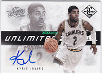 2012-13 LIMITED UNLIMITED POTENTIAL ROOKIE AUTO: KYRIE IRVING #/199 RC AUTOGRAPH