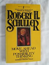 Move Ahead With Possibility Thinking Schuller 1980 Paperback Inspirational