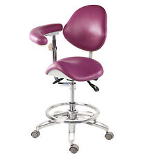 Dental Stools Dentist's Doctor's Assistant's Stool Chair 18 color (Deluxe) PU