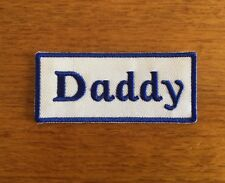 Patch / Ecusson Daddy Biker Motorcycles Thermocollant