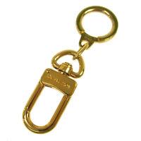 LOUIS VUITTON Anokre Bag Charm Key Holder Gold M62694 Vintage AK31832g