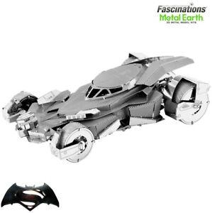 Metal Earth BATMAN V SUPERMAN Batmobile Car DIY Puzzle 3D Model Building Kit Toy
