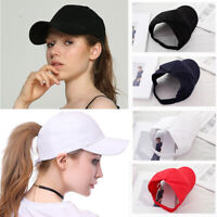 Backless Ponytail Hat Natural Afro Curly Hair Baseball Cap Sun Hat Cap for Women