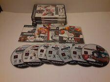 Football games (Playstation 2) Ps2 Madden Ncaa Nfl Espn