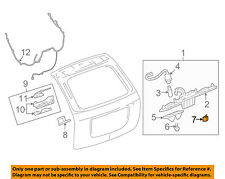 GM OEM Liftgate Tailgate Hatch-Release Button Switch 10322831