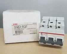 ABB BREAKER S503-B32 230/400V 50KA