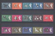 BRITISH SOLOMON ISLANDS 1985 SG 112/26 MNH Cat £50