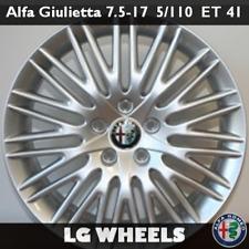 Cerchio Lega Nuovo e Originale Alfa Romeo Giulietta → 7.5x17 ET41 5x110, Silver