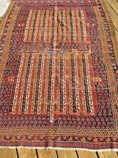 AMAZING 1880   HIGHLY  COLLECTIBLE  ANTIQUE   RUG  EXCEPTIONAL PIECE