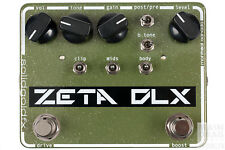 SolidGoldFX Zeta DLX Deluxe Overdrive True Bypass Guitar Effects Pedal Stompbox