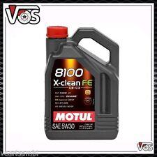 OLIO MOTORE MOTUL 8100 X-CLEAN FE 5W30 5 LITRI LT 100% SINTETICO FIAT 9.55535