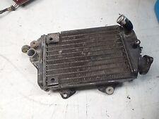 kawasaki KLX650 KLX 650 rh right radiator cooler assembly 1993 1994 1995 1996