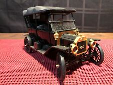 Franklin Mint 1913 Ford Model T Touring 1/16 Diecast w/case