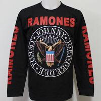 Ramones Long Sleeve T Shirt Size S M L XL 2XL 3XL
