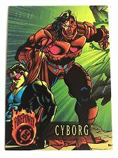 Fleer Skybox DC Comics Firepower Trading Cards #40 Cyborg