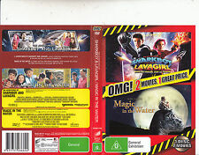 The Adventures of Sharkboy And Lavagirl-2006-Taylor Lautner/Magic-2 Movie-DVD
