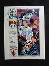 Doctor Mirage 13 SDCC Comic Con Print signed Bernard Chang NM/MT Cond Valiant
