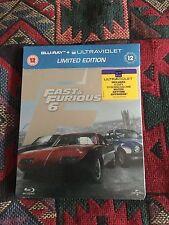 Fast and the Furious 6 steelbook, U.K. Import, region free