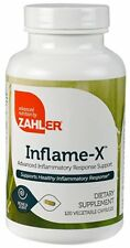 Zahler Inflame-X Anti Inflammatory Contain Turmeric Inflammation Reducer 120 Cap