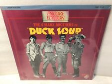 The 4 Marx Brothers Duck Soup Digital Video Laser Disc -New Sealed