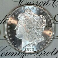 * 1879-S * CHOICE - GEM BU MS MORGAN SILVER DOLLAR * FRESH FROM ORIGINAL ROLL *
