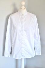 JAEGER White 100% collar smart boxy shirt 14, RECENT STORE PIECE