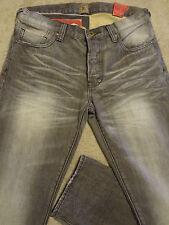 PRPS RAMBLER Selvedge Gray/ Brown  Jeans Slim 36 Fits 35 / 34 x 34 Orig. $250+
