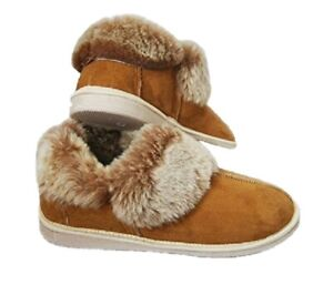 Natural Warm Cozy Leather ORGINAL Wool Sheepskin Fur Slippers Boots PERFECT GIFT