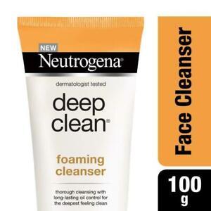 Neutrogena Deep Clean Foaming Cleanser 100g / 3.52 0z Free Ship
