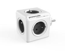 Allocacoc PowerCube Original Grey Socket Multiplier