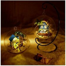 DIY Handcraft Miniature Dolls House -Glass Ball Dollhouse UK Stock Fast Delivery