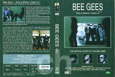 BEE GEES - THE OFFICIAL STORY: This Is Where I Came in   DVD NEW