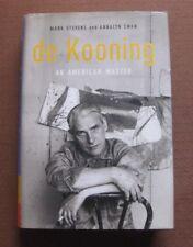 WILLEM DE KOONING biography by Stevens & Swan - 2004 HCDJ 1st/1st - VG+ art