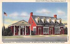 South Carolina postcard Myrtle Beach Colonial Coffee Shoppe Kings Highway