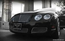 Bentley Flying Spur Lower Bumper Chrome Mesh Grille 3pcs replacement set 03-09
